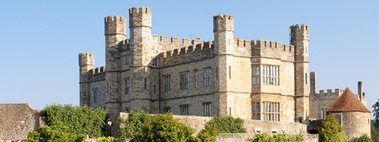 Dover cruise transfers with Leeds castle tour